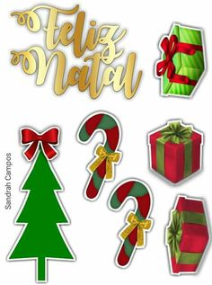 Christmas Labels, Christmas Templates, Christmas Stickers, Christmas Holidays, Christmas Crafts, Xmas, Christmas Cake Topper, Silhouette Projects, Dear Santa