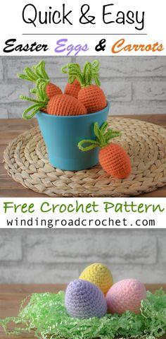 Easter Egg Cozies - Winding Road Crochet / Free Crochet Patterns