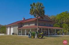 Morton Buildings hobby building in Florida