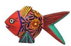 Fish from Tikal Arte Mexicano (www.tikal.com.mx).