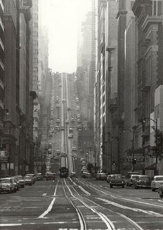 California Street, San Francisco, 1964, Todd Walker