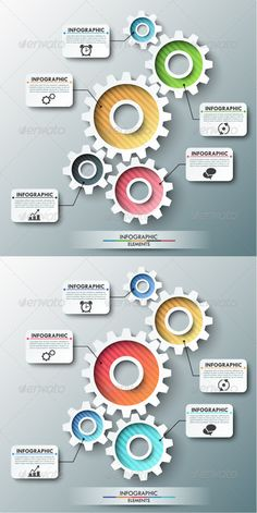 Infographic Tutorial infographic tutorial illustrator cs2 download : Modern Infographic Process Template (2 Versions) #design Download ...