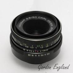 CZJ Tessar 50mm F/2.8 Lens