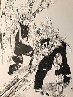 till death do us apart.~ but that still won't separate this two. Yandere Anime, Manga Anime, Anime Art, Seven Deadly Sins Anime, 7 Deadly Sins, Meliodas And Elizabeth, Elizabeth Liones, Chica Gato Neko Anime, Kamigami No Asobi