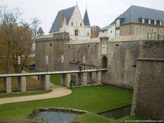 chateau de nantes : entrée pont de secours