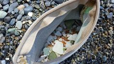 You can never have too much seaglass. Lopez Island, WA.