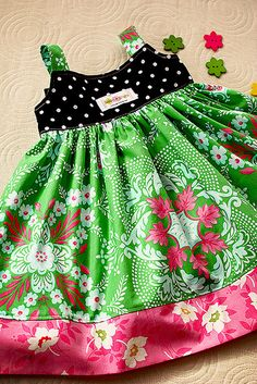 springtime in paris dress - love the colors!