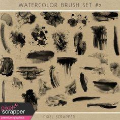 Watercolor Brush Kit #2