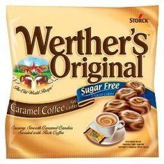 Werther's® Original® Sugar Free Hard Caramel Coffee Candies - 5 Count : Target