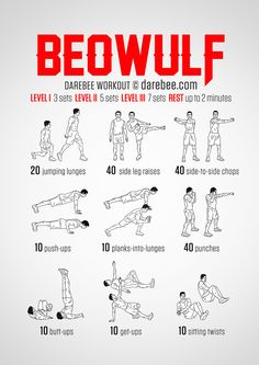 Beowulf  Workout | Posted By: CustomWeightLossProgram.com