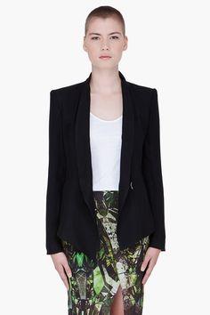 Helmut lang black prism blazer   http://fffflash.com/women_formal-jackets_303110