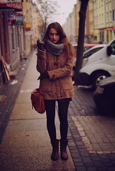 winter layers - ankle boots
