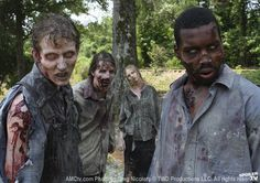zombies #only one black guy????