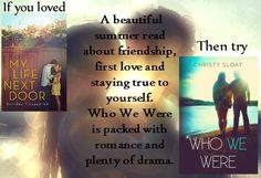 Who We Were by Christy Sloat YA, Contemporary Romance