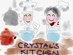 It is always fun at Crystal's Kitchen