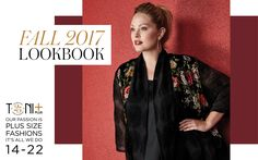 Toni Plus Fall 2017 Look Book Plus Size Designer Fashion  www.toniplus.com