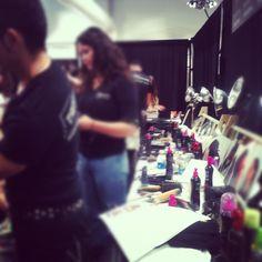 The TRESemmé team is rockin' backstage @tracy_reese! #tresmbfw @Mercedes-Benz Fashion Week #FashionWeek #NewYork #mbfw #NYC