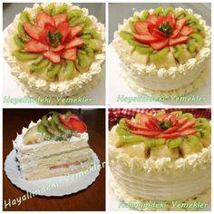 Meyveli Yaş Pasta