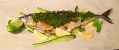 Mine matskriblerier: Stekt makrell med ramsløkpesto
