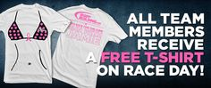 Run with Jamie Eason! Sign up to be on our Team to race for the cure and get one of these awesome shirts!