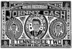 YeeHaw Press - Johnny Cash