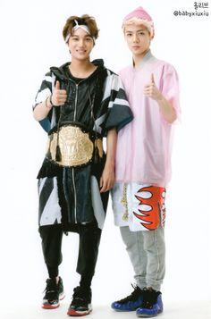 sehun kai those clothes ahaha