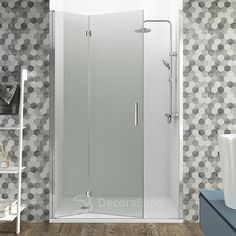 Mampara de Ducha plegable Glass de GME (Combi 1) 2 plegables Armoire, New Homes, Mirror, Bathroom, House, Furniture, Home Decor, Boutique, Folding Doors