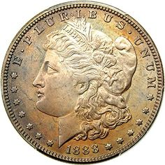1888 P Morgan Dollars (Proof) Dollar PR66 PCGS -- More info could be found at the image url.