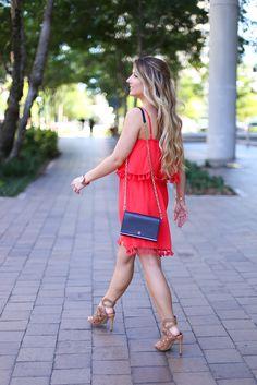 Styled Adventures: Tassel Dress