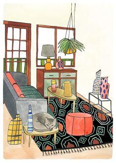 Interior Series - Bodil Jane.