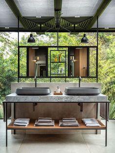 Luxury Decor, Luxury Interior Design, Bathroom Interior Design, Interior Architecture, Hotel Lobby Design, Restroom Design, Outdoor Bathrooms, Guest Bathrooms, Toilet Design