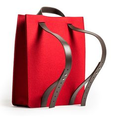 Knoll Debuts a Line of Smart Felt Bags 2014 Tote Backpack, Leather Backpack, Tote Handbags, Leather Handbags, Leather Bags, Bags 2014, Shopper, Hobo Bag, Fashion Bags