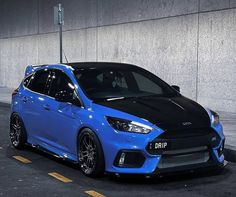 Ford Fiesta Modified, Modified Cars, Focus Rs, Ford Focus, Sport Cars, Race Cars, Hatchbacks, Car Goals, Jdm Cars