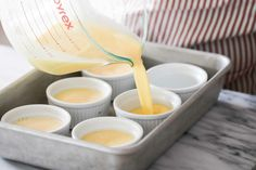 Creme Brulee Torch, Creme Brulee Dishes, Cream Brulee, Bean Pods, Brulee Recipe, Simply Recipes, Caramel Color, Custard, Vegetarian