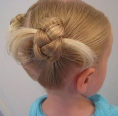 Cute Updos Hair for Little Girls - Hairstyles Trend