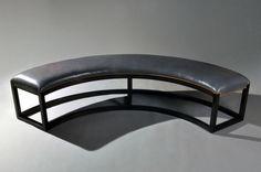 Atlas Bench | Matthew Fairbank Design #furnituredesign #bespoke #madeinbrooklyn…