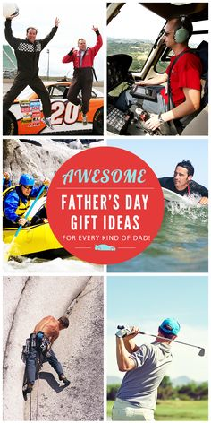 This Father's Day, ditch the tie, and get Dad an unforgettable experience gift! #fathersday #fathersdaygifts #giftsfordad #giftideasfordad #fathersdaygiftideas