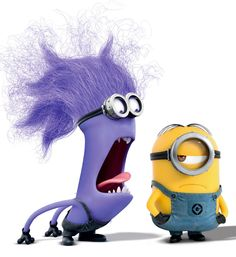 It's like the purple minion is saying, 'Did you hear me? Can you hear me?' And the yellow minion is like dafuq? Minion Rock, Purple Minions, My Minion, Minion Stuff, Funny Minion, Purple Minion Party, Happy Minions, Despicable Me, Disney Animation