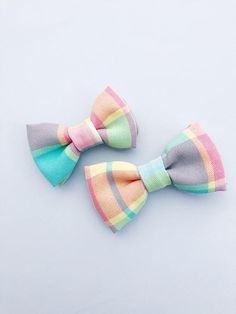 Plaids tie easter bow tie baby bow tieboy bow tie color