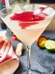 A little sweet, a little tart, and a whole lot of yummy. All you need is lime, sugar, tequila and red wine! The Devil's Margarita is great for one, or even a crowd. Perfect to serve at your next Halloween Party! www.showmetheyummy.com