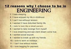 This site contains information about best mechanical engineering quotes. Civil Engineering Handbook, Diploma In Civil Engineering, Engineering Quotes, Civil Engineering Construction, Electronic Engineering, Mechanical Engineering, Electrical Engineering, Human Body Facts, Homemade Essential Oils