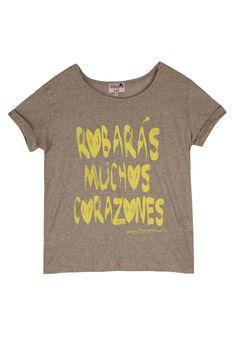 """Dolores Promesas Shop Online - CAMISETA """" ROBARAS MUCHOS CORAZONES"""""""