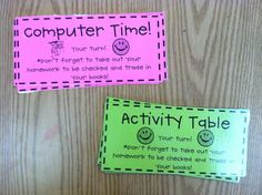 Happy New Year! I can't believe vacation is almost over! I have been trying a few new things in the class this year and wanted to share so...