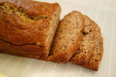 How to be Pleasant: Life is Good on Pleasant Avenue: Eggless Banana Bread Recipe