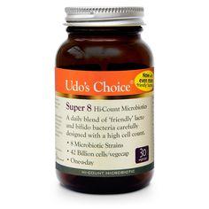 Udo's Choice Super 8 Microbiotics | Udo's Choice - Official Trade Sports Nutrition Distributor | Tropicana Wholesale