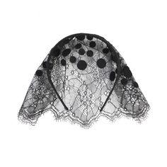 """Coralie"" Veil Handband by Maison Michel"