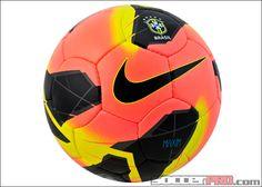 Nike Brasil Maxim Soccer Ball - Mango with Black...$134.99