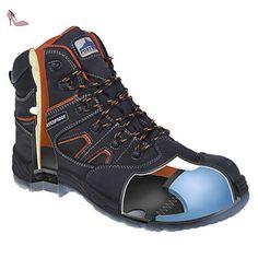 Portwest, Chaussures de sécurité pour homme - Noir - Schwarz, 39 EU
