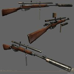 The attention to detail and level of finesse in the art execution should be applauded. Weapons Guns, Guns And Ammo, Fallout, Steampunk Weapons, Steampunk Machines, Village Map, Arsenal, Weapon Concept Art, Punk Art