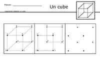 Apprendre à dessiner un cube
